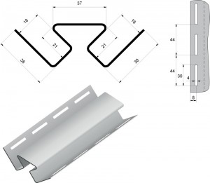 Внутренний угол для сайдинга ⋆ Стройка Маркет
