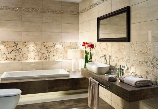 Как правильно выбрать плитку для ванной комнаты ...
