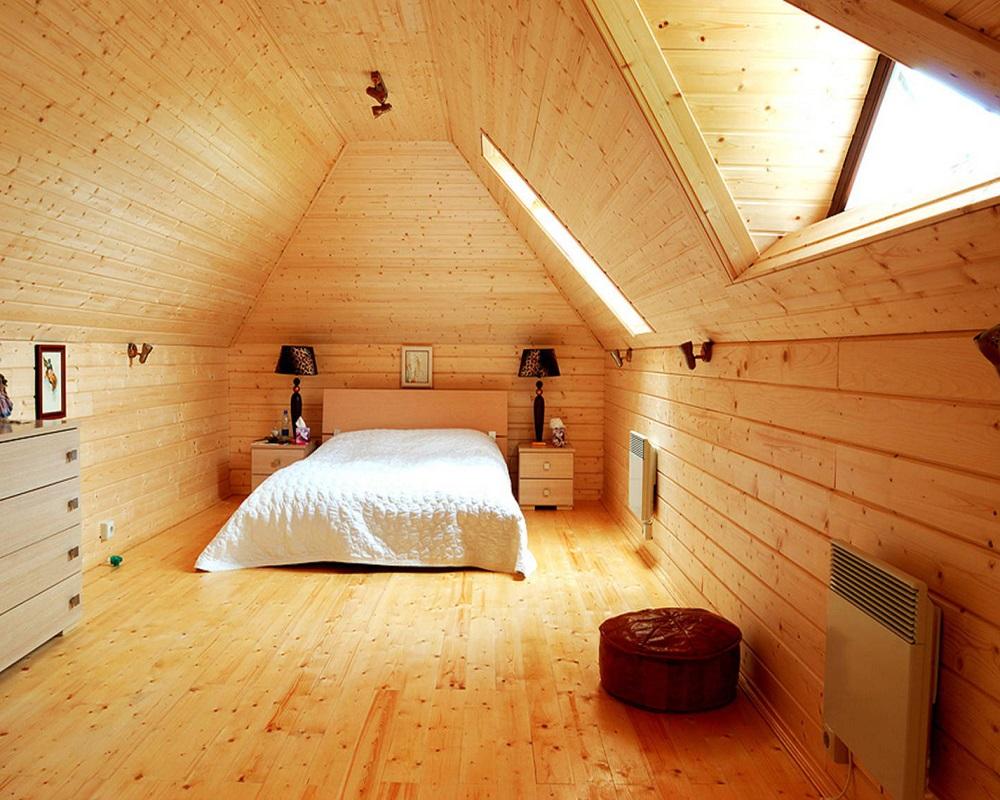 дедушка отделка мансарды деревянного дома внутри фото сети появились действительно