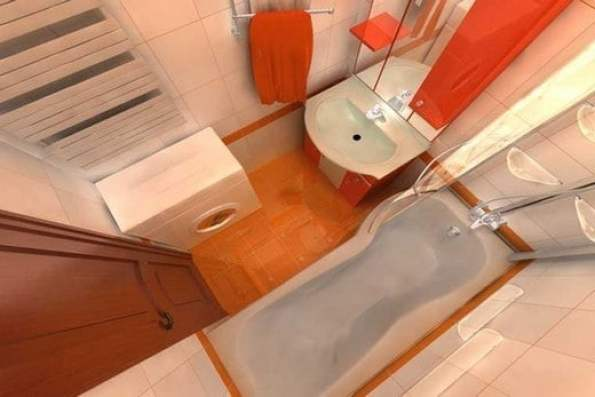 ремонт узкой ванны