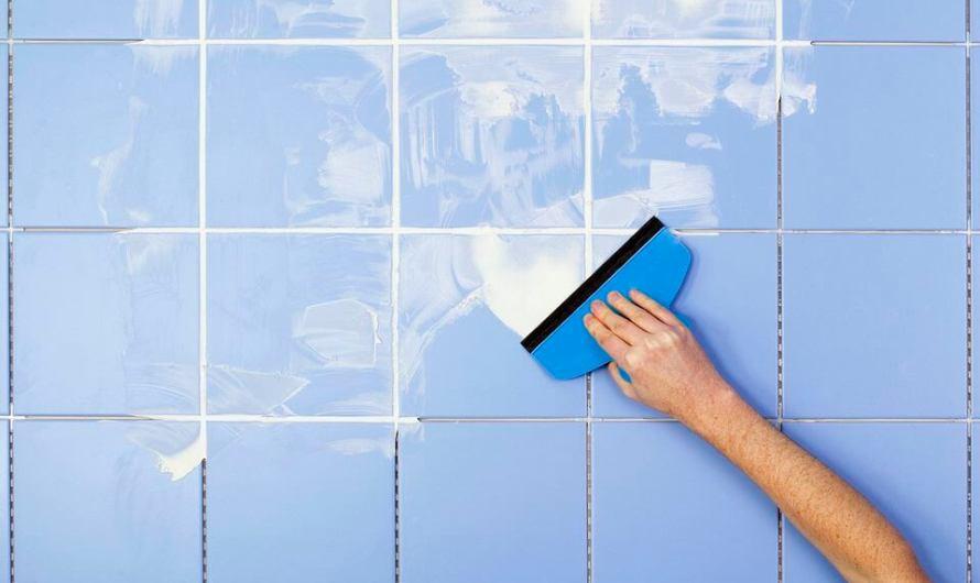 Как затирать швы на плитке в ванной