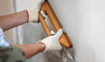 как выровнять стены в ванной
