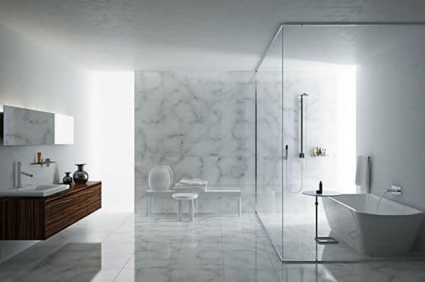 Ванная в стиле минимализм-1