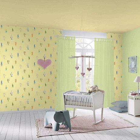 Обои для детской комнаты бумажные: каталог с фото, цены