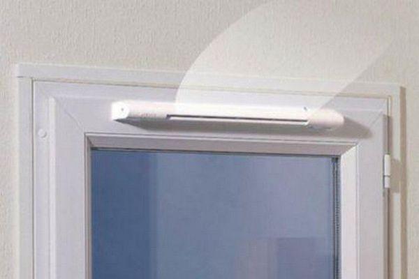 Пластиковые вентиляционные решетки с обратным клапаном