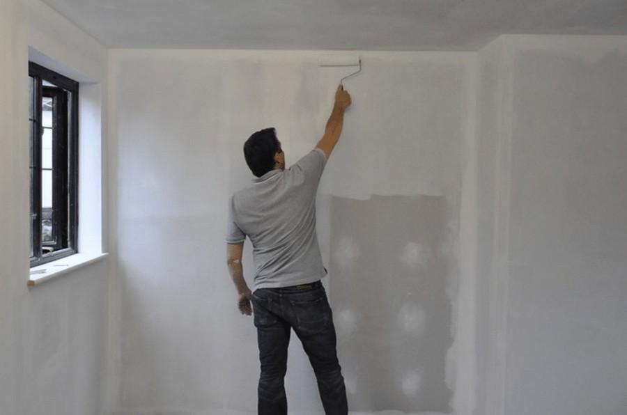 Фото стен которые не прогрунтовали стены