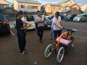 STROKEカーゴトライクを新潟県燕三条へ!ゲリラ試乗会開催2