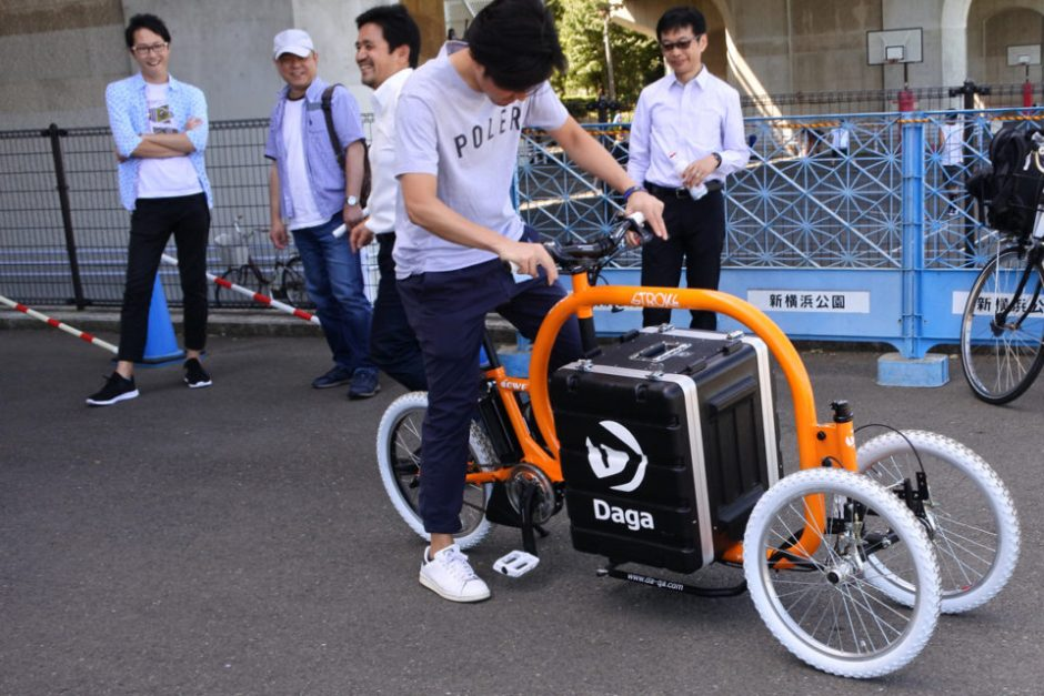 STROKEカーゴトライク(3輪カーゴバイク)試作3号機試乗会9