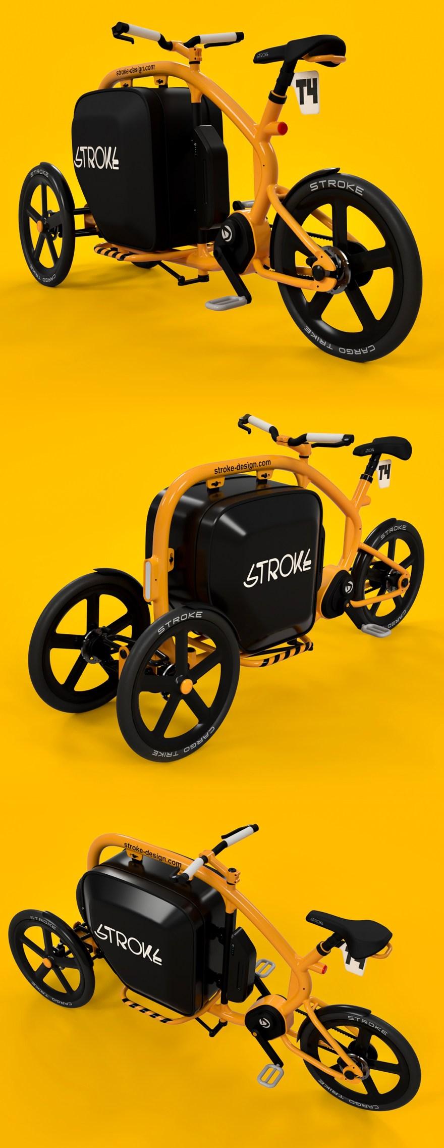 STROKE Cargo Trike (T4)イメージ