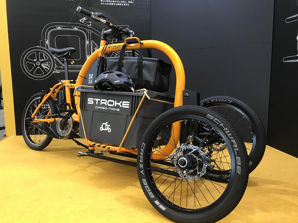 カーゴバイクSTROKEをBicycleCityExpoへ展示06