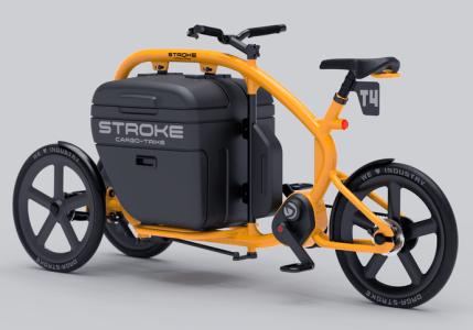 STROKEカーゴトライク(カーゴバイク)試作4号機の完成予想イメージ02