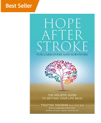 Book cover of Hope After Stroke