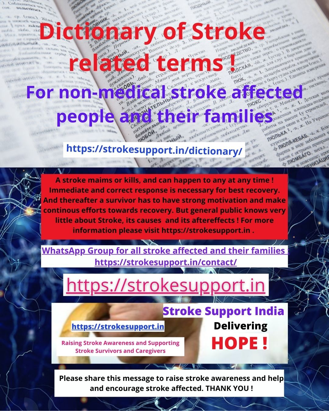 Dictionary of Stroke Related Terms