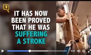 police, metro, brain stroke