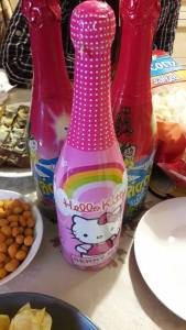 hello kitty champagne