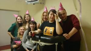 rebirth, stroke anniversary, hospital