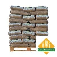 pallet Tarwe strokorrels bestellen vijftig zakken van twintig kilo
