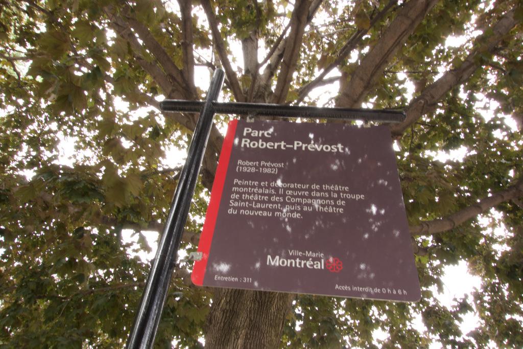 Robert Prévost Park - Ville Marie, Montreal