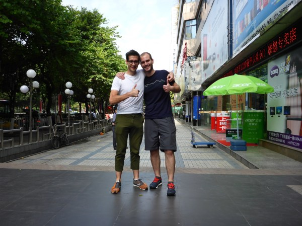 Guangzhou - Zu Besuch bei Tobias