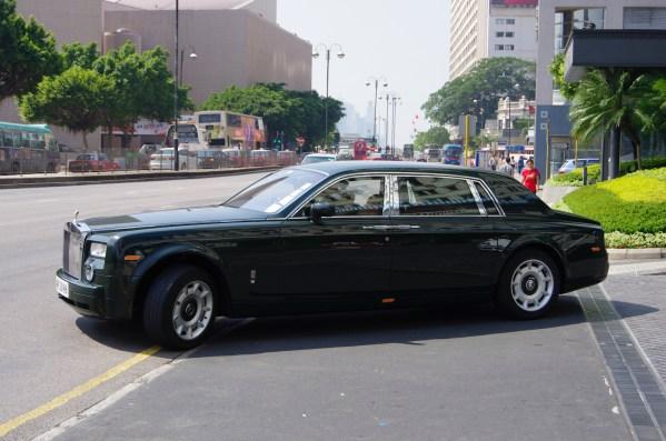 Hongkong Luxuskarrosse