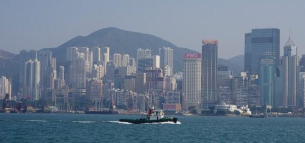 Hongkong Skyline tagsüber