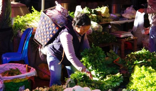 Lijiang Markt 2