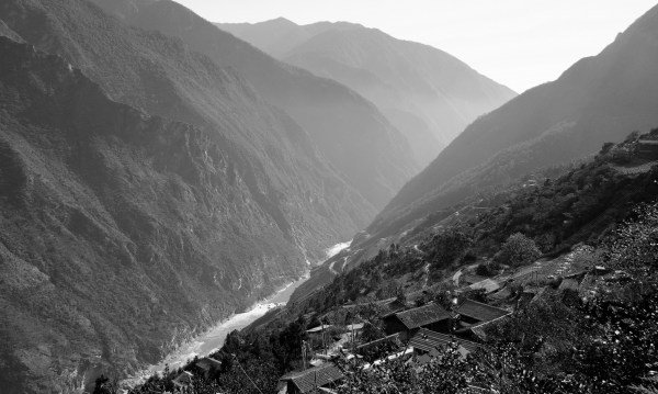 Tiger Leaping Gorge Landschaft 3