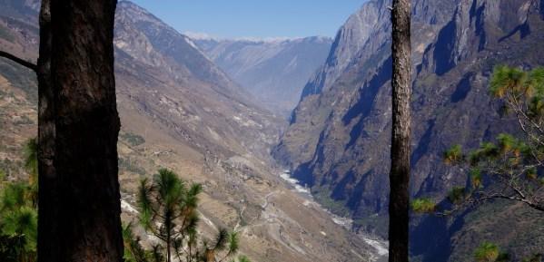 Tiger Leaping Gorge Landschaft