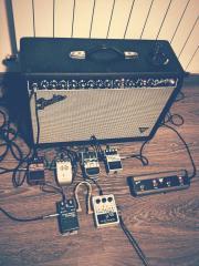 My pedals (: Big Muff, Echo park...