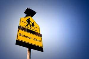 It is a serious criminal offense to have weapons on school grounds