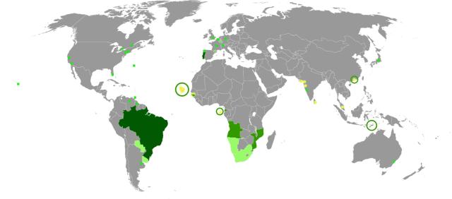 portuguese classes los angeles map