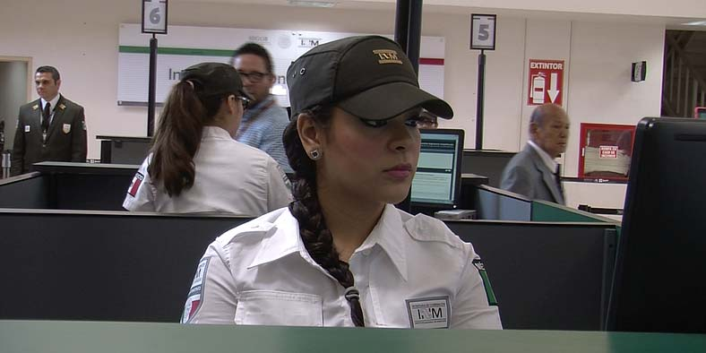 Mexican Customs Officer