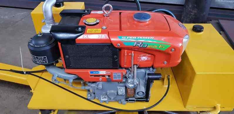 Baby roller Strong manual starter 1,4 ton Kubota