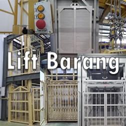 Lift barang Strong - Kuat Aman Murah