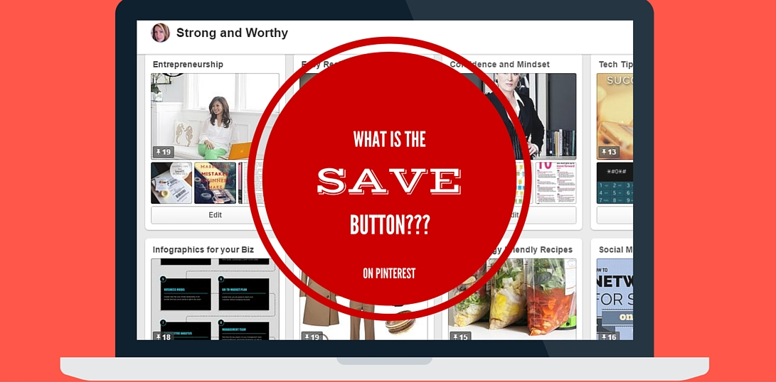 What is the save button on Pinterest