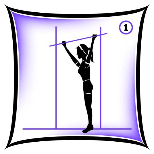 Circuit 1 Core Hanging Leg Raise 1