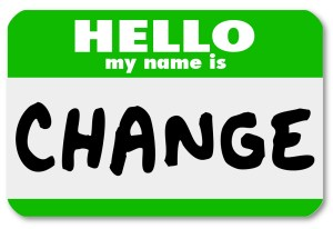 Big Change Begins with Small Changes