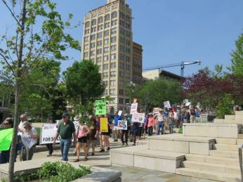 climate change march asheville
