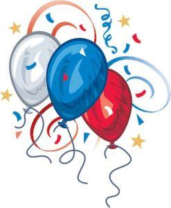 july balloons