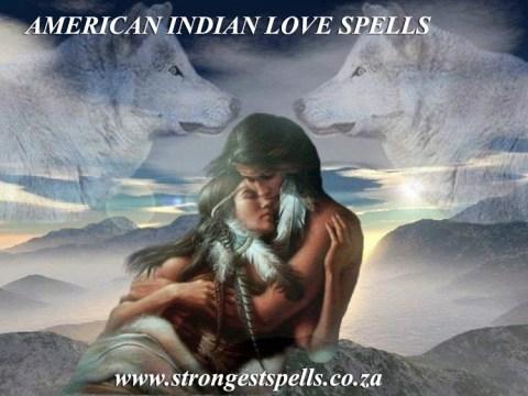 American Indian love spells