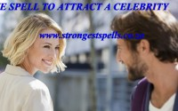 Love spell to attract a celebrity