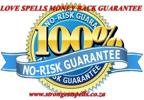 Love spells money back guarantee