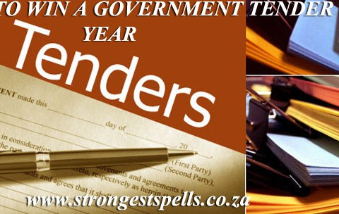 Spell to win a government tender this year