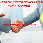 Strongest business spells to win a tender