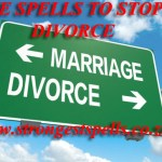 Love spells to stop a divorce