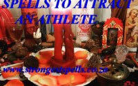 Strongest love spells to attract an athlete
