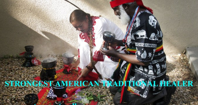 Strongest American traditional healer