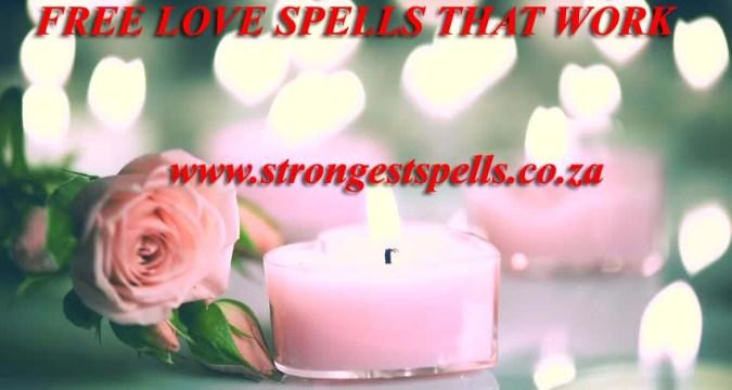 Free love spells that work