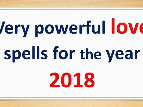 Effective love spells with results guaranteed