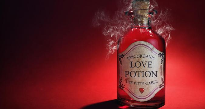 Love spells with potions